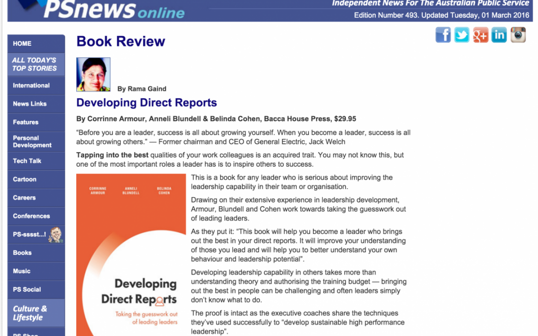 PSNews Online – Book Review by Rama Gaind